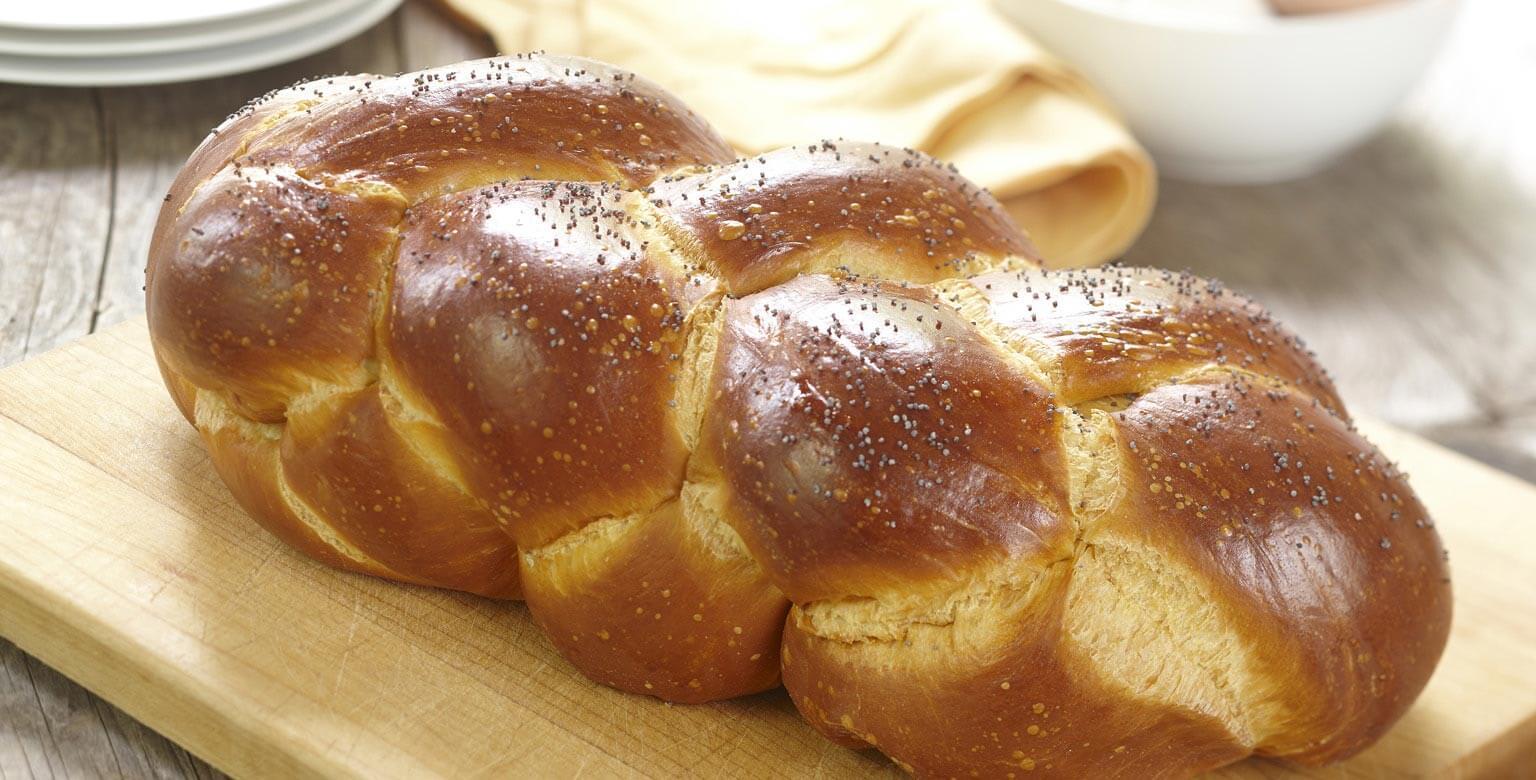 Braided Multigrain Egg Bread
