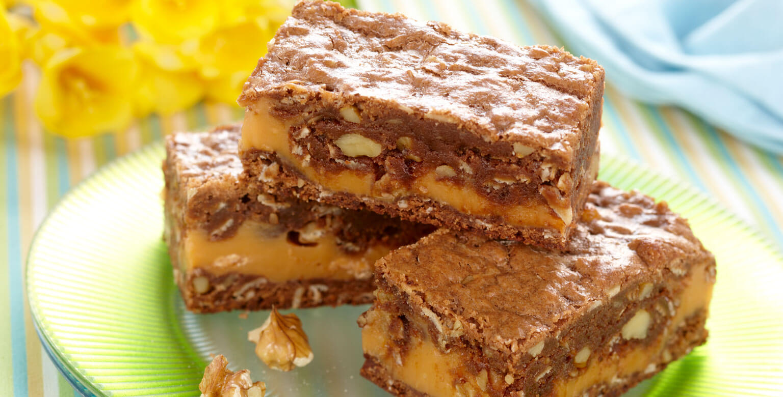 Chocolate Butterscotch Ripple Squares