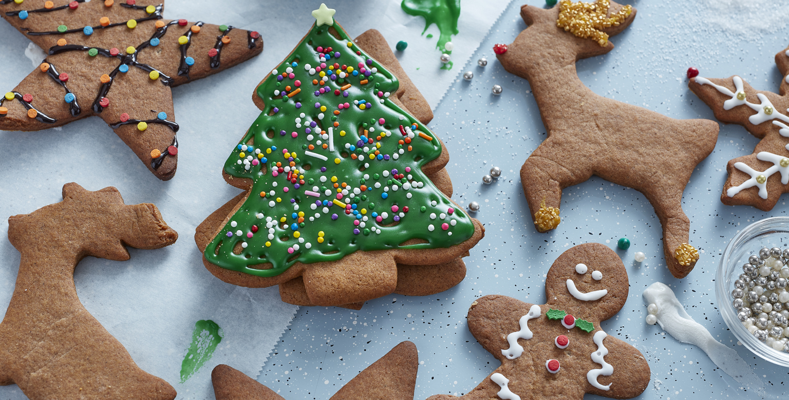 Gingerbread Holiday Cookies