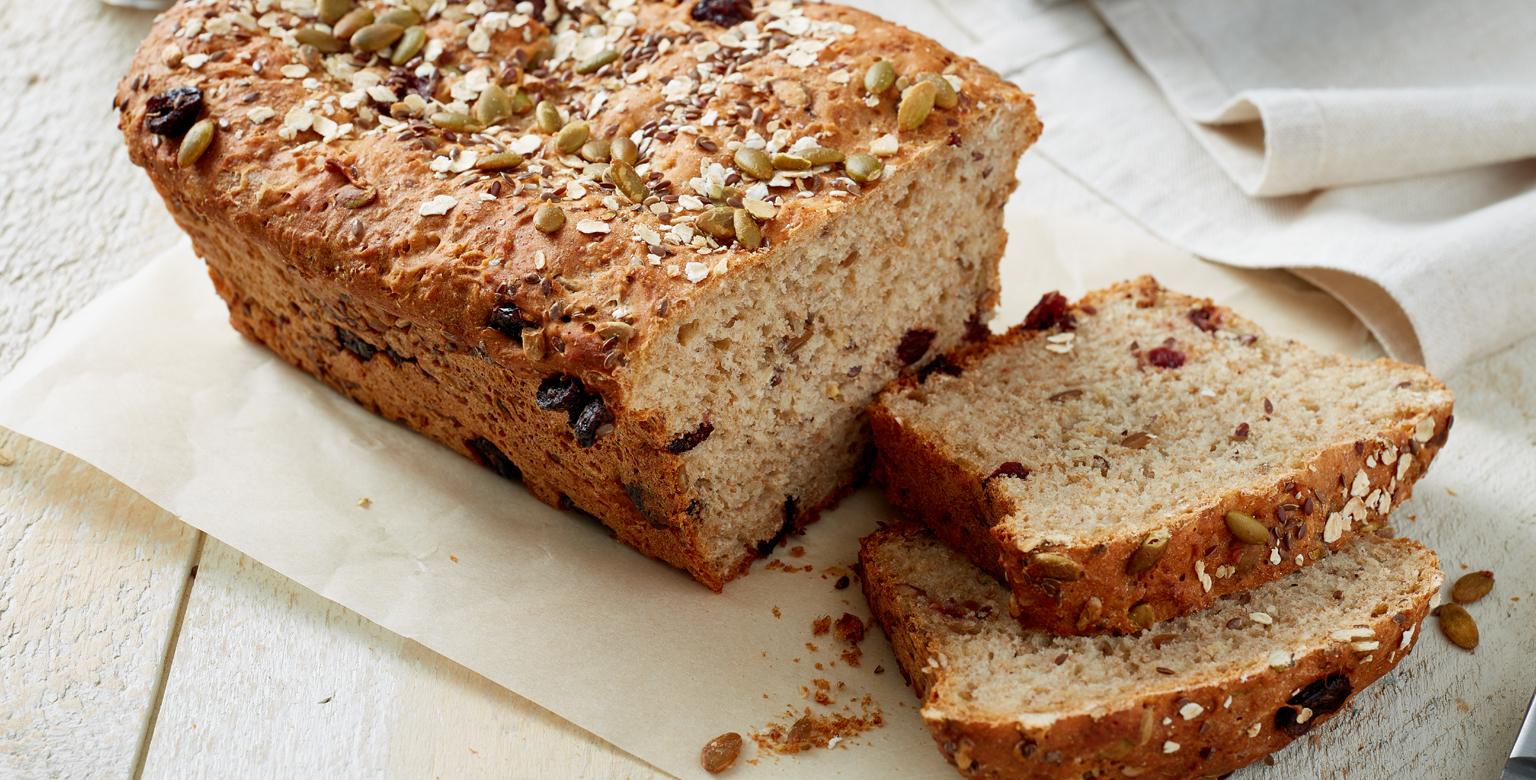 One Rise Breakfast Seed Bread