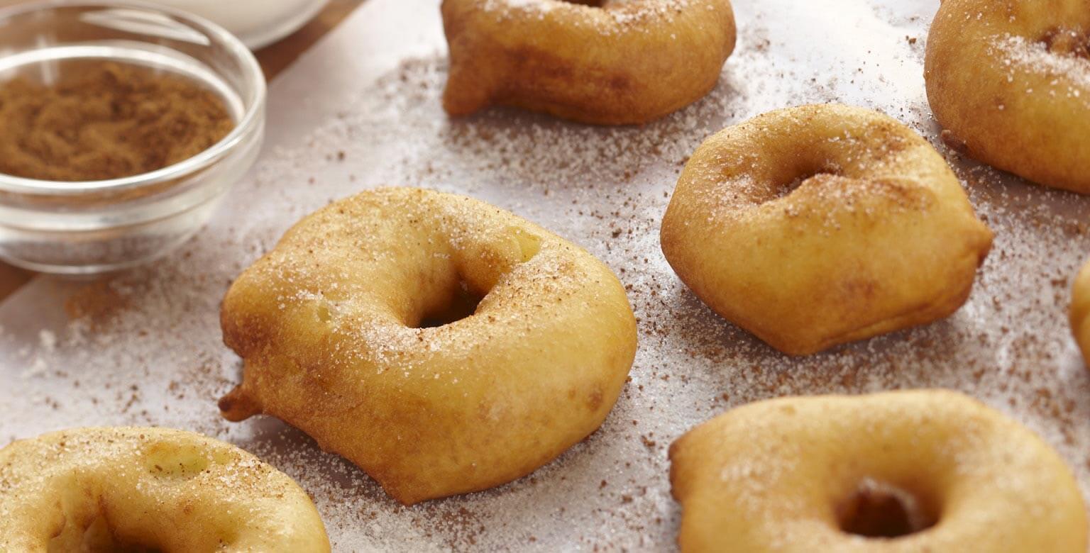 Voir la recette - Beignets aux pommes