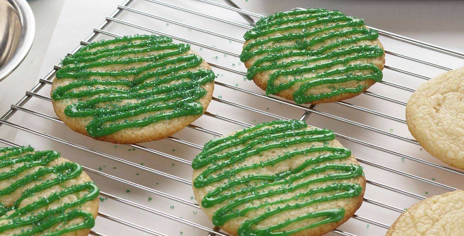 Voir la recette - Biscuits à la lime