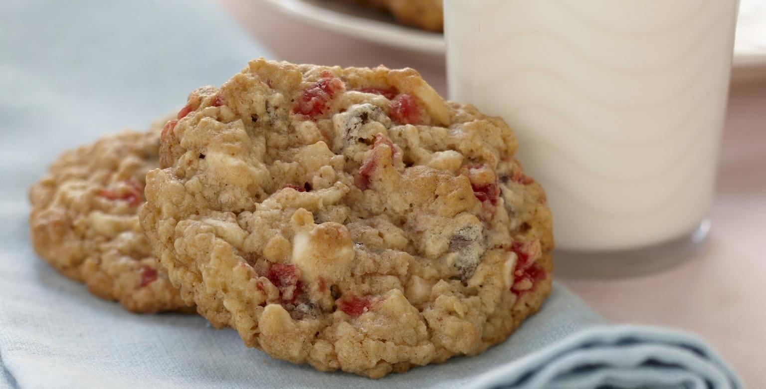 Voir la recette - Biscuits au gruau croquants forêt-noire