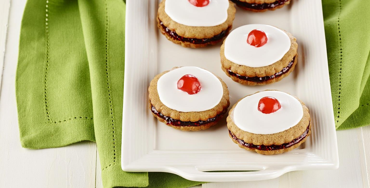 Voir la recette - Biscuits au miel et à la cannelle