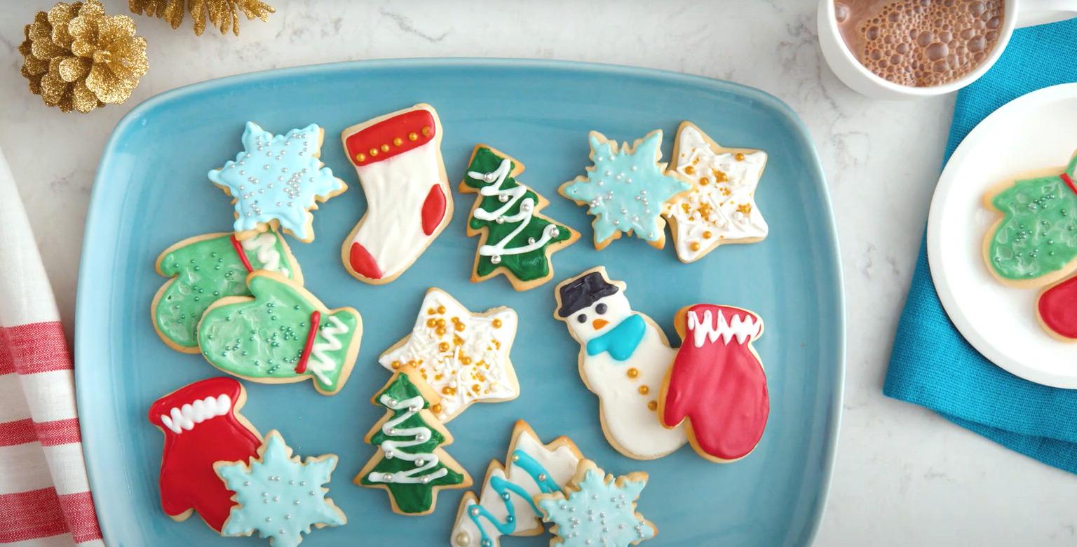 Voir la recette - Biscuits au sucre classiques