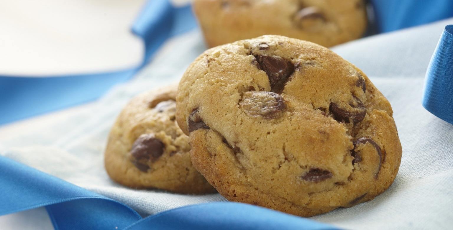 Voir la recette - Biscuits aux brisures de chocolat Blue Ribbon