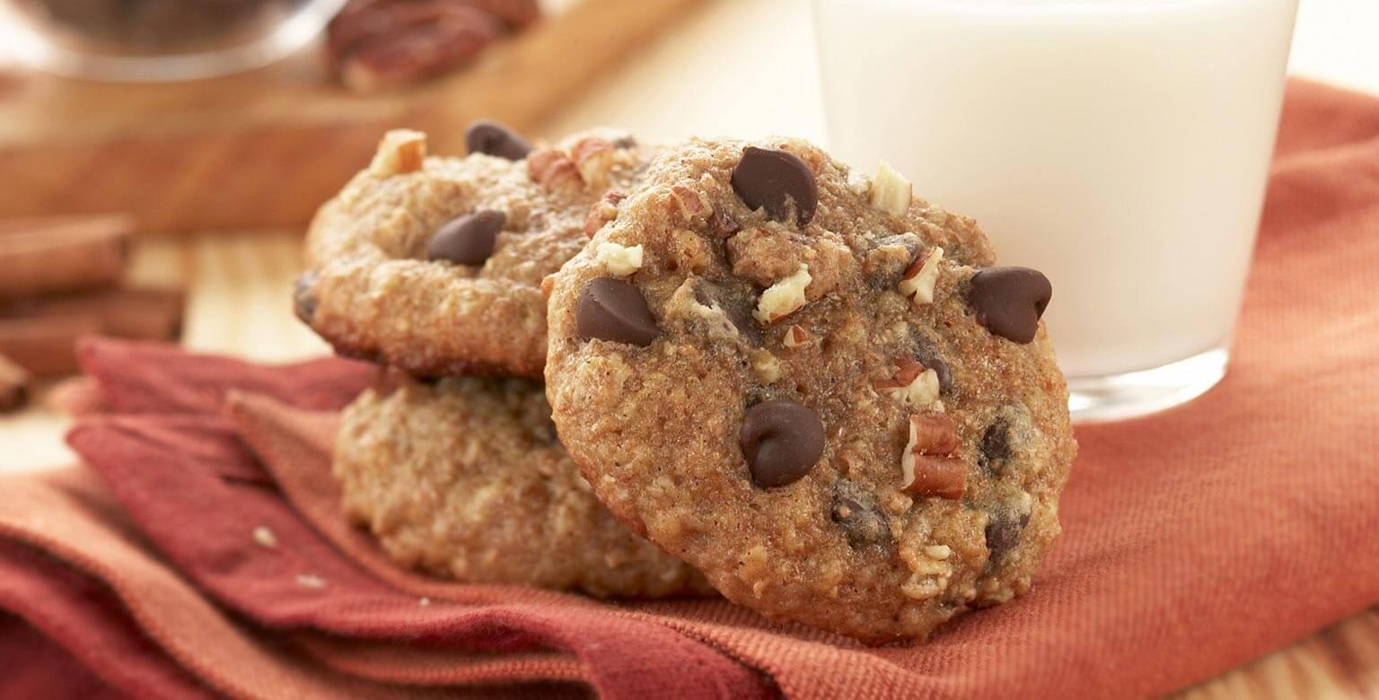 Voir la recette - Biscuits aux flocons d'avoine