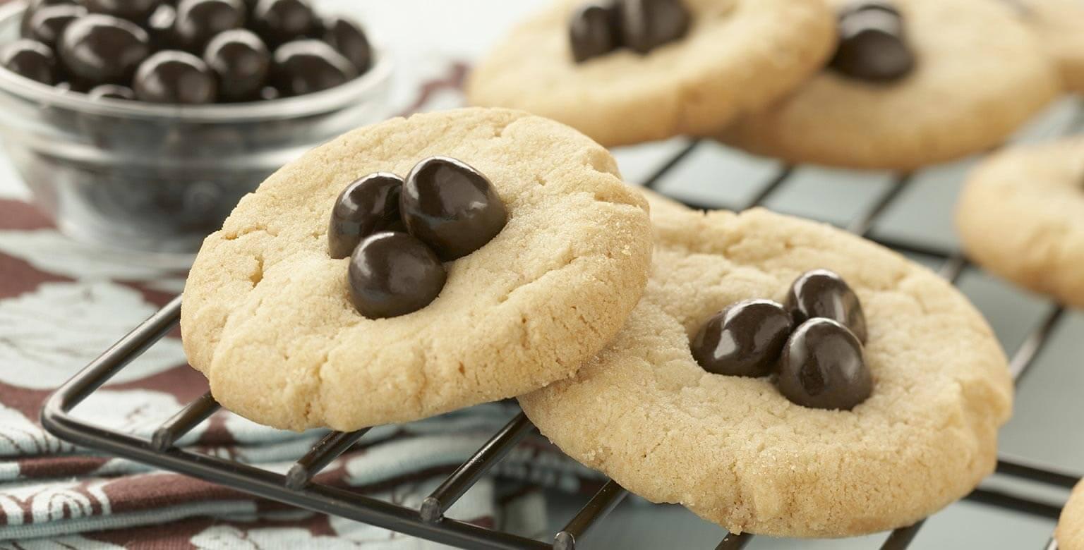 Voir la recette - Biscuits aux grains de café Java