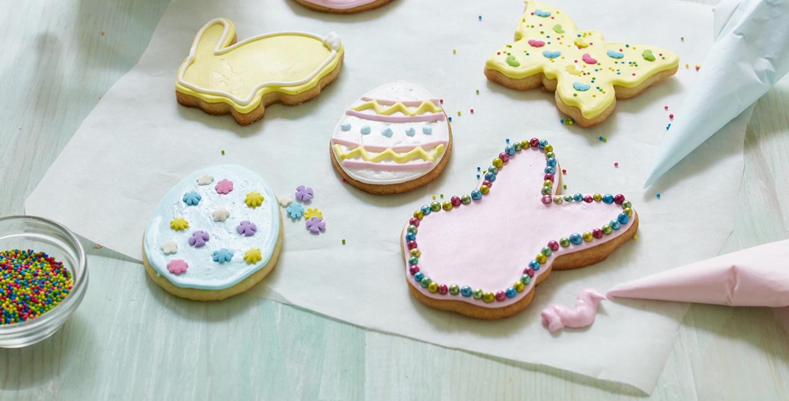 Voir la recette - Biscuits de Pâques au sucre