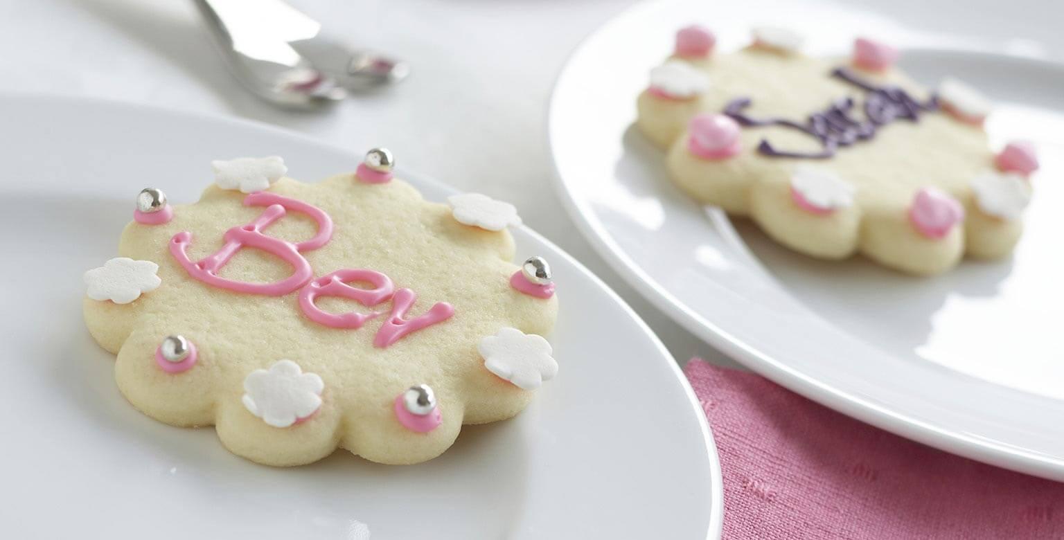 Voir la recette - Biscuits de fantaisie au sucre