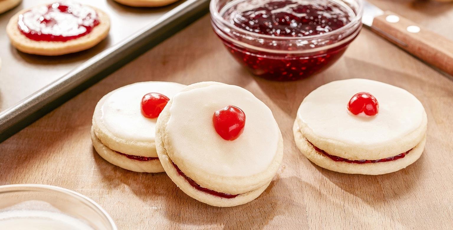 Voir la recette - Biscuits impériaux