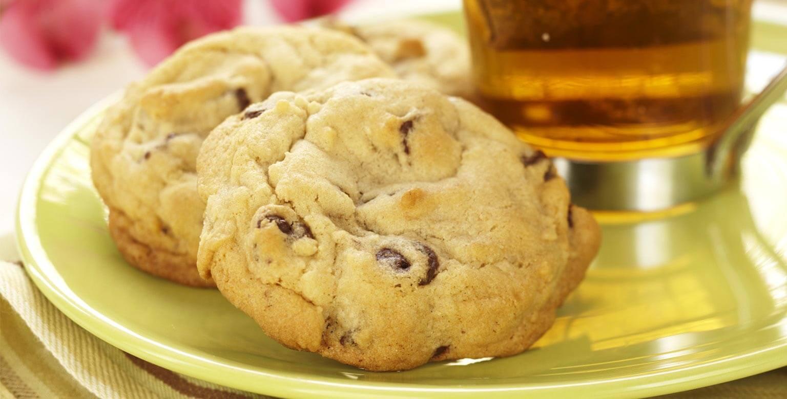 Voir la recette - Biscuits moelleux aux pépites de chocolat