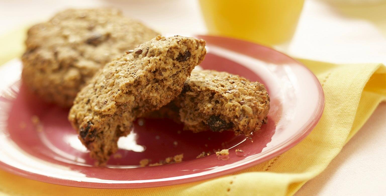 Voir la recette - Biscuits monstres pour déjeuner