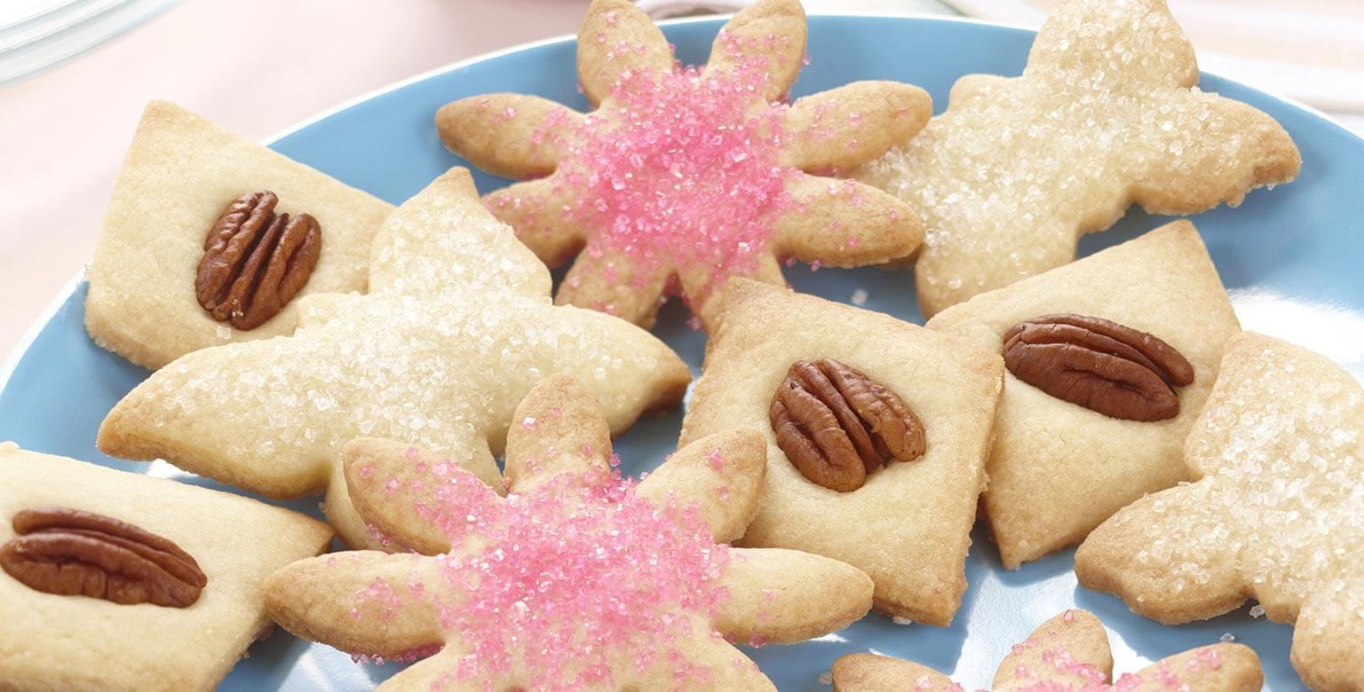 Voir la recette - Biscuits sablés