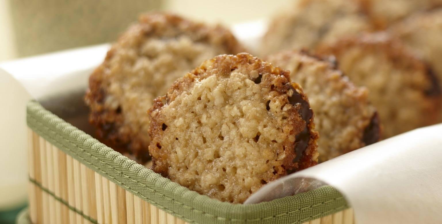 Voir la recette - Biscuits-sandwichs croustillants au gruau