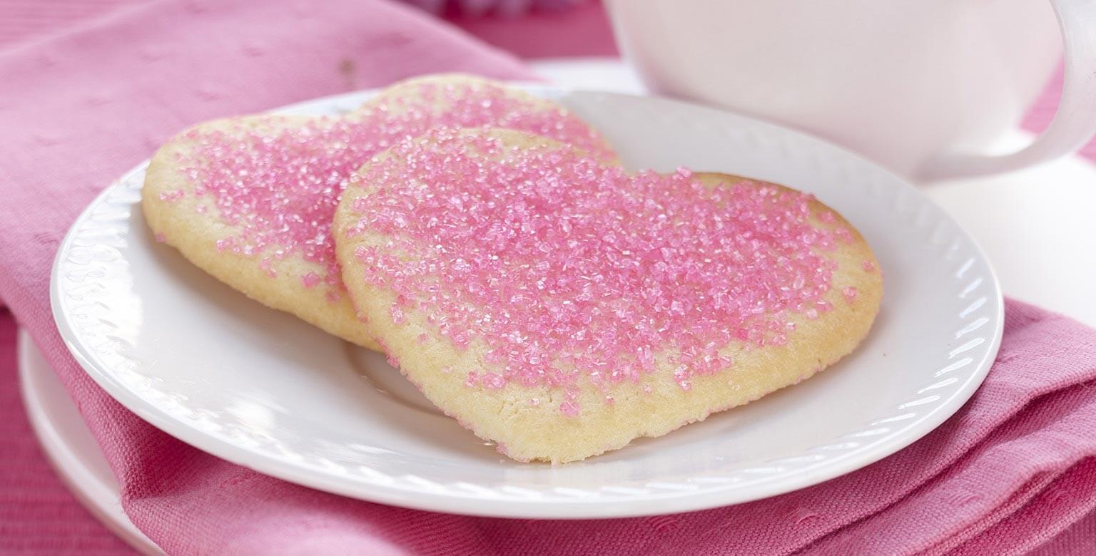 Voir la recette - Biscuits sucrés de la St-Valentin