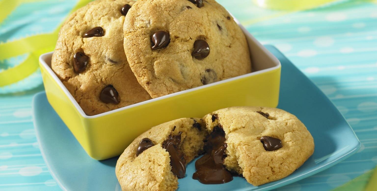 Voir la recette - Biscuits-surprises au chocolat
