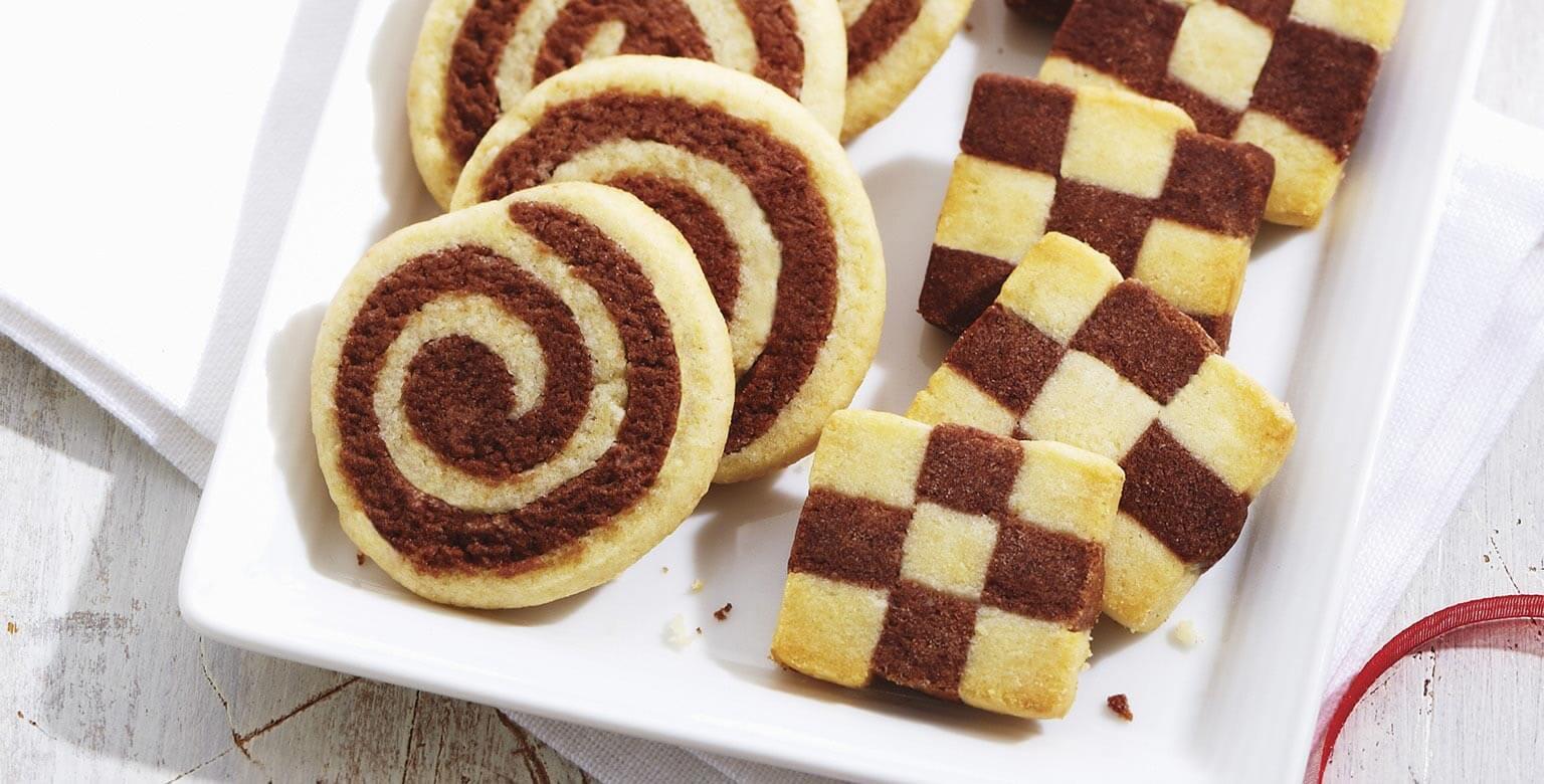 Voir la recette - Biscuits tourbillon