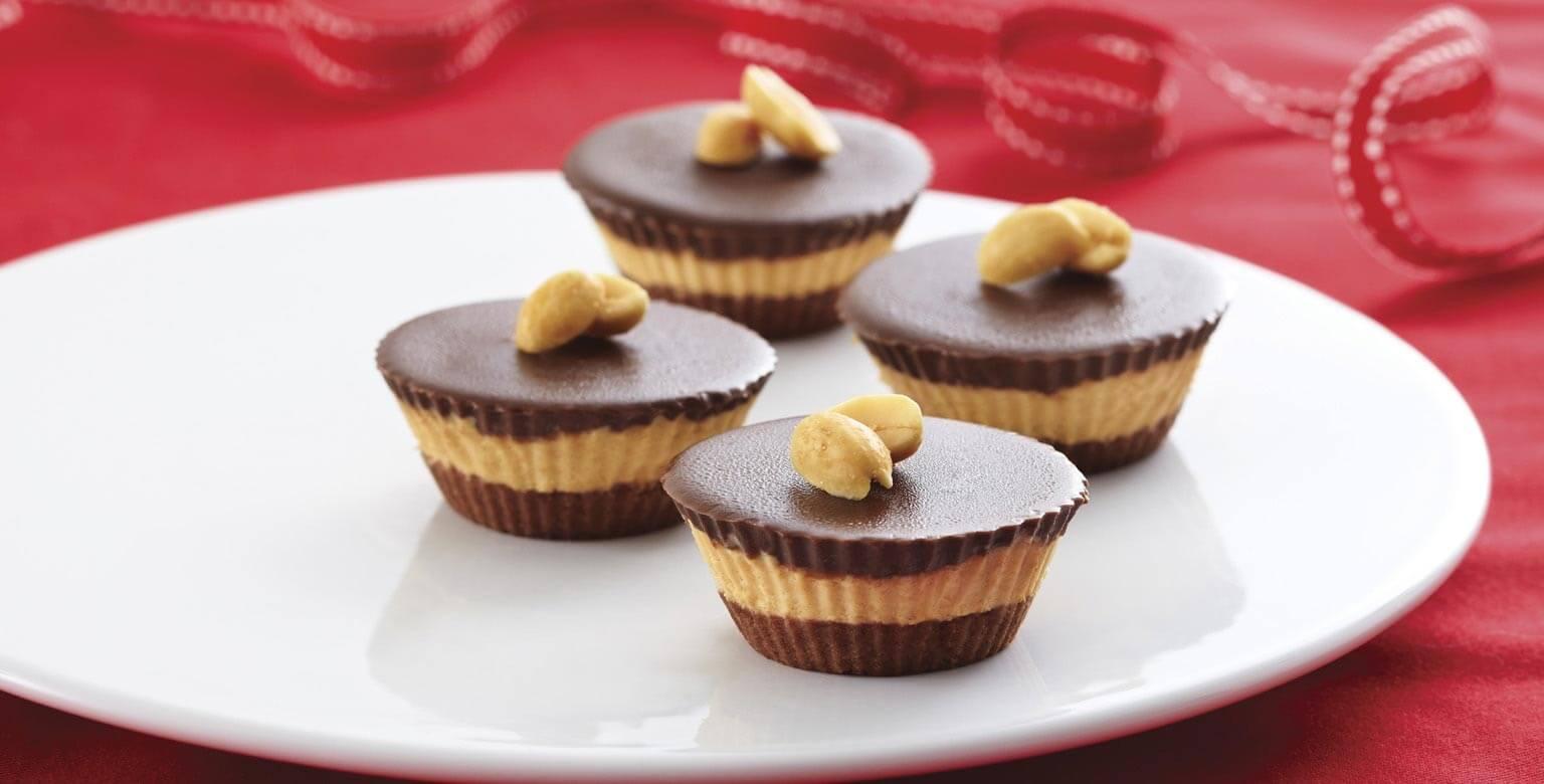 Voir la recette - Bouchées de beurre d'arachide et de chocolat