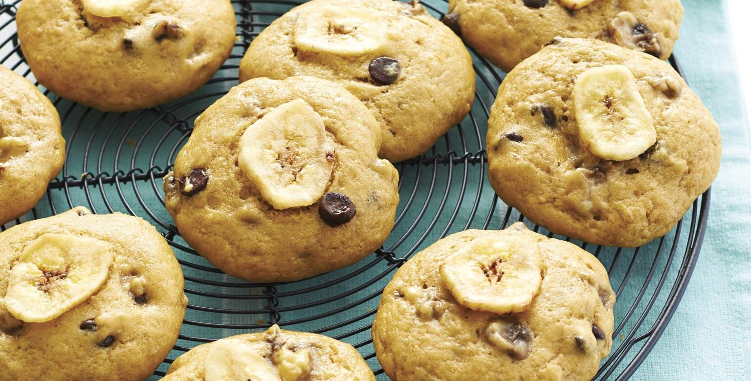 Voir la recette - Bouchées de pain aux bananes au chocolat