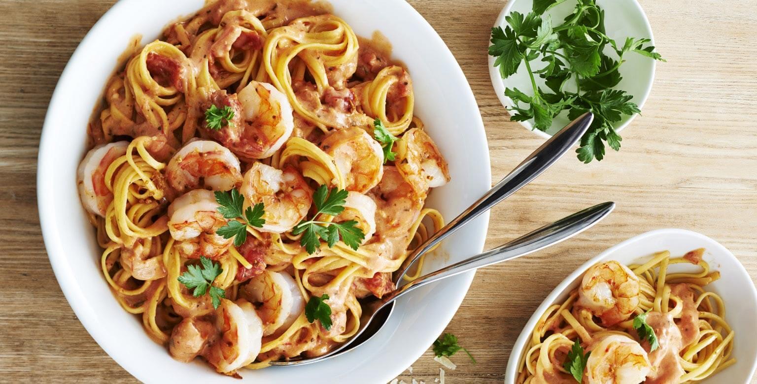 Voir la recette - Crevettes à l'ail