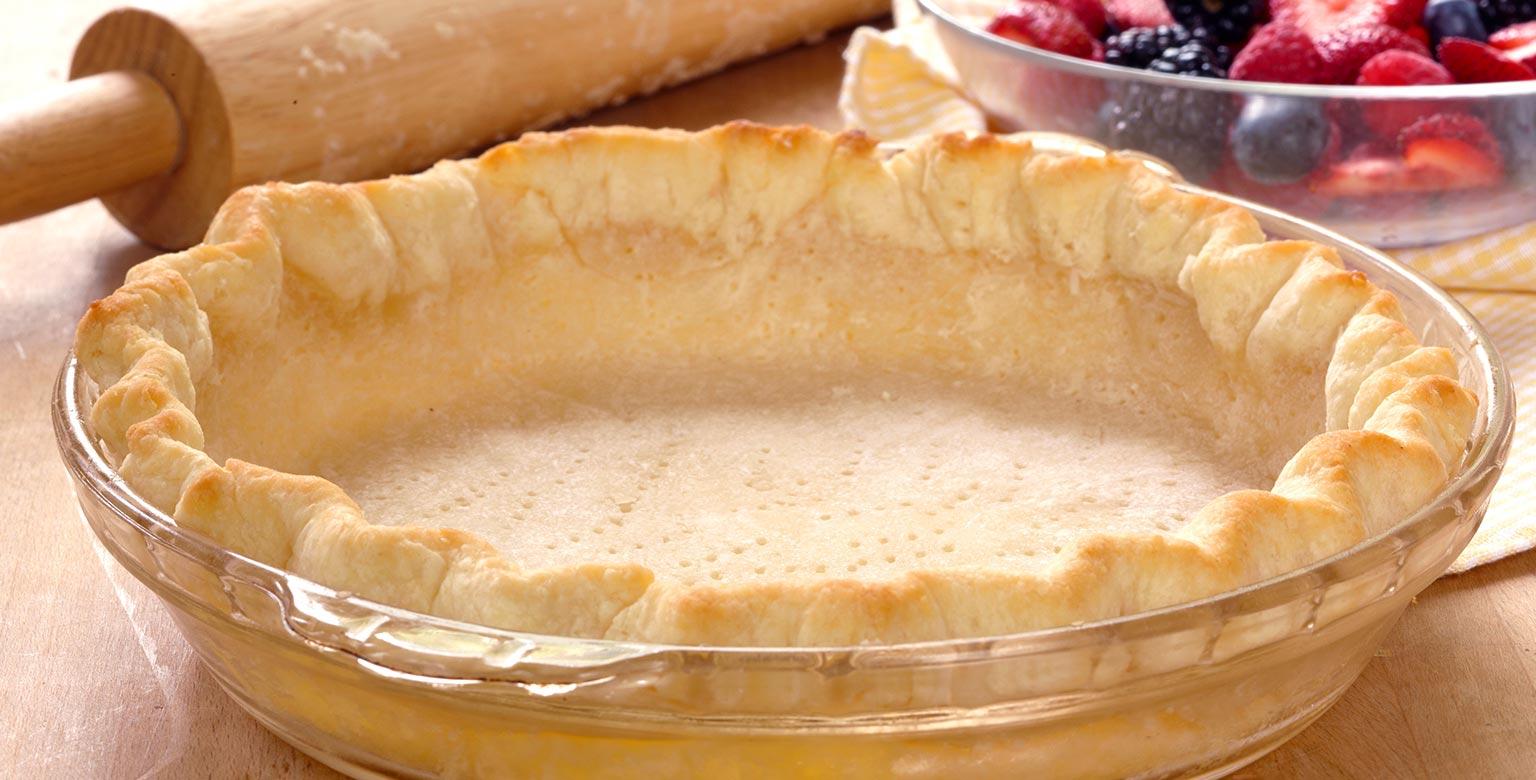 Voir la recette - Croûte à tarte sans gluten