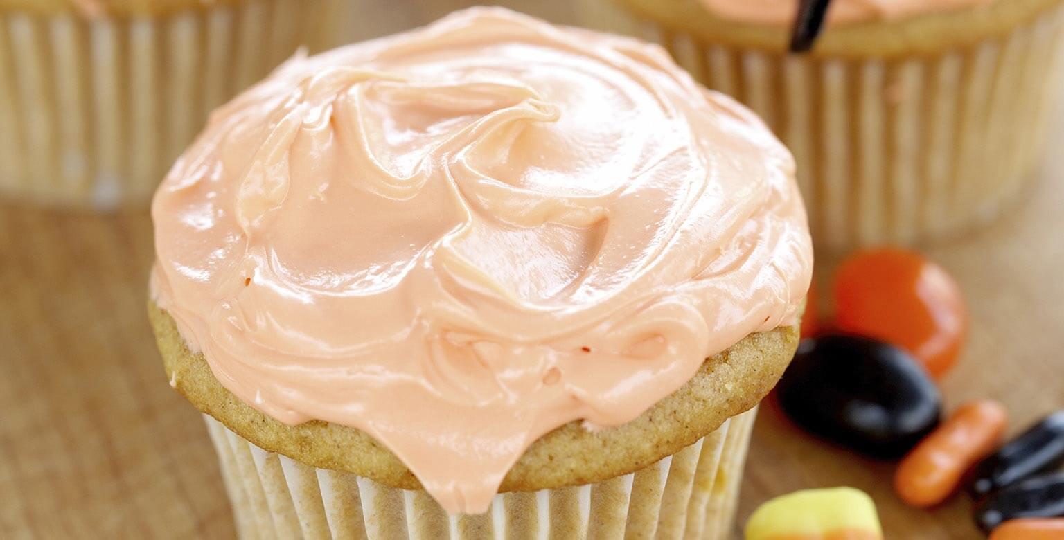 Voir la recette - Cupcakes Joyeuse Halloween