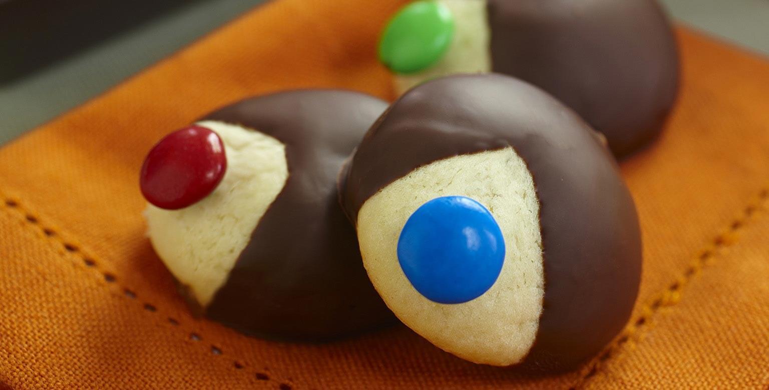 Voir la recette - Faites de gros yeux pour l'Halloween