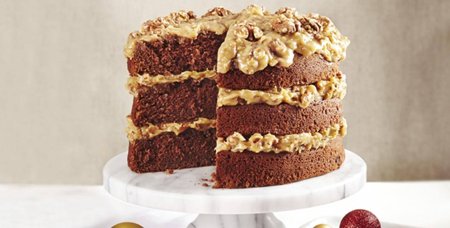 Voir la recette - Gâteau au chocolat allemand