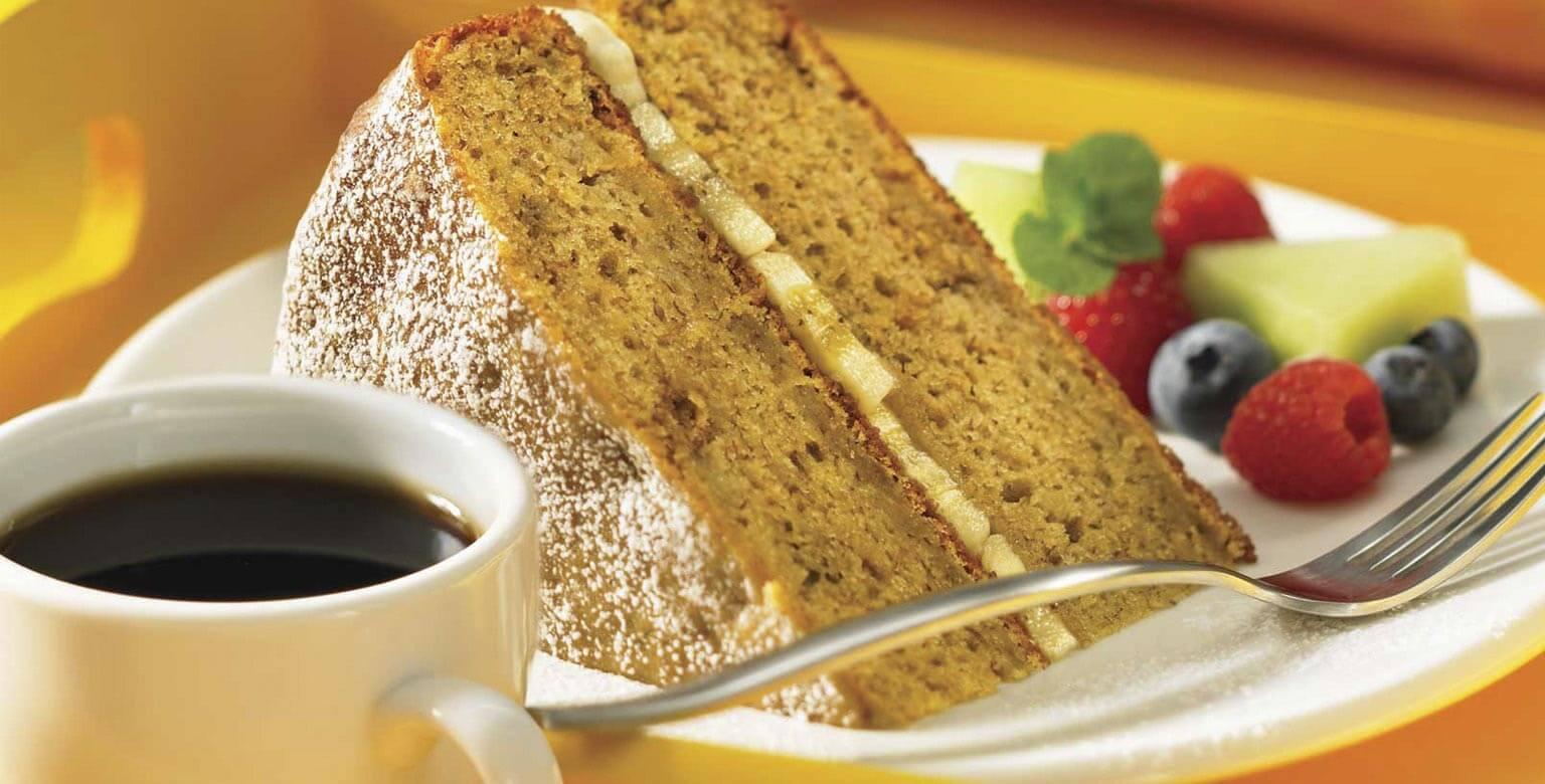 Voir la recette - Gâteau aux bananes et aux pépites de chocolat