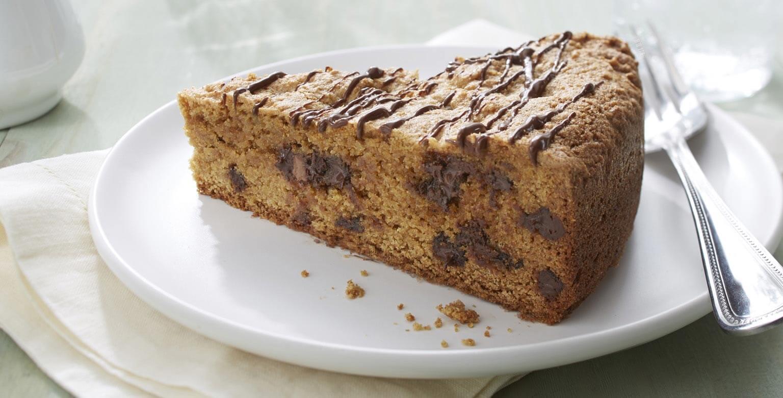 Voir la recette - Gâteau aux biscuits de pépites de chocolat