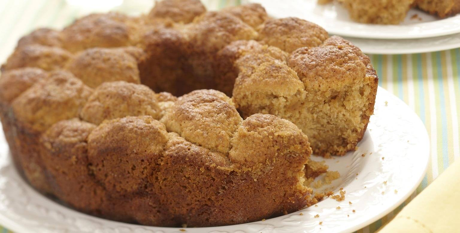 Voir la recette - Gâteau aux bulles de biscuits