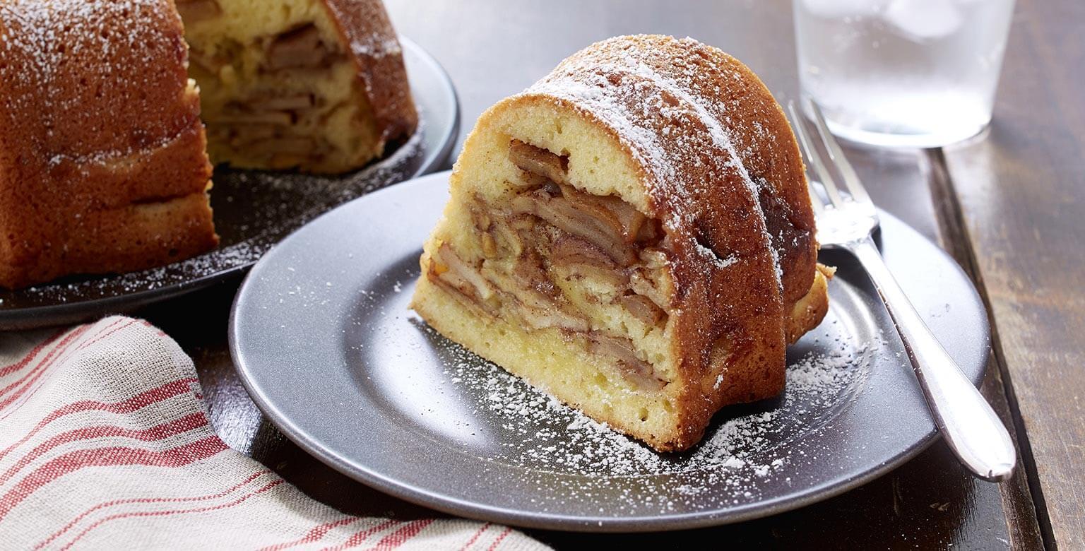 Voir la recette - Gâteau aux pommes de grand-mère