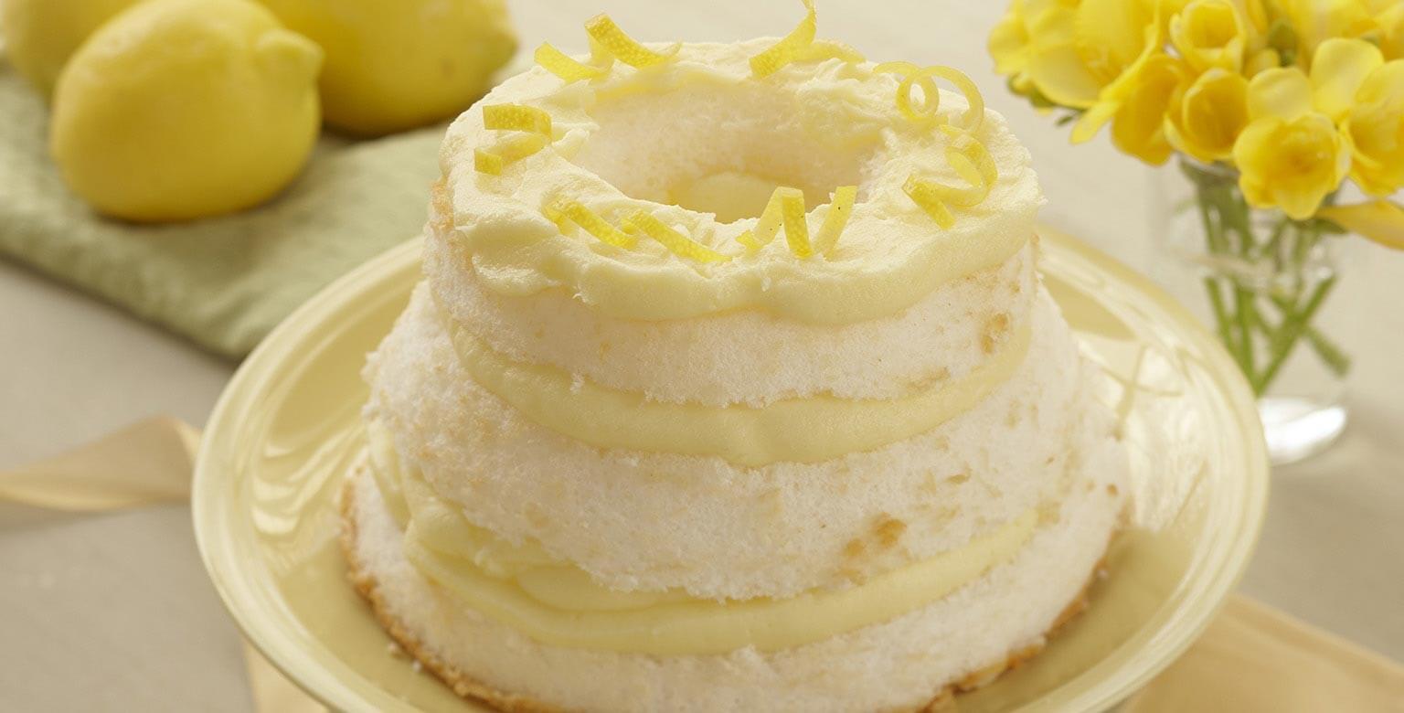 Voir la recette - Gâteau chiffon au citron
