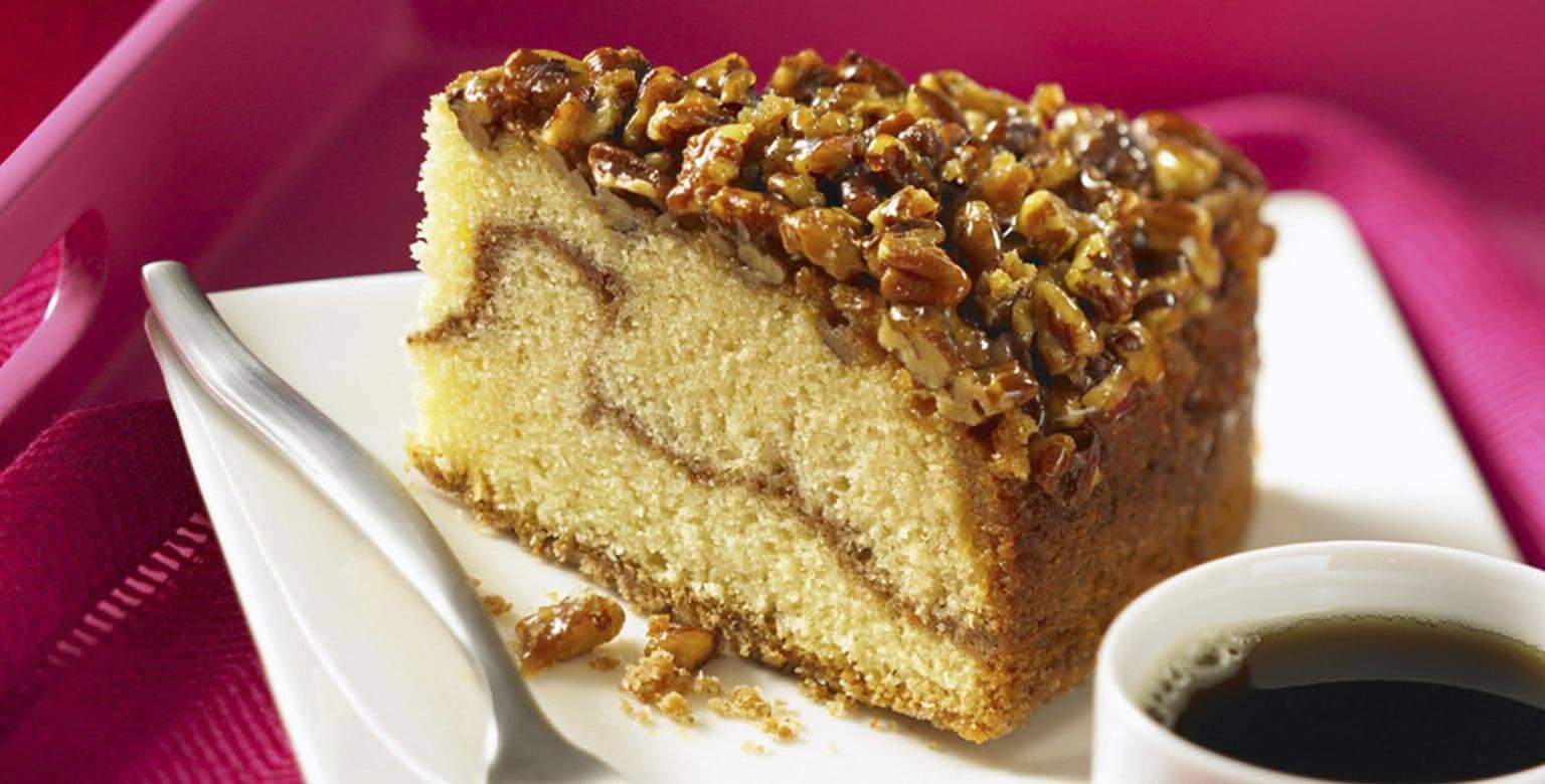 Voir la recette - Gâteau danois au caramel collant