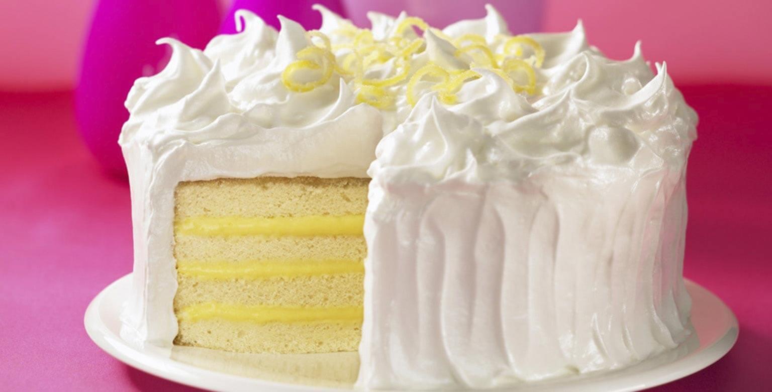 Voir la recette - Gâteau meringue au citron