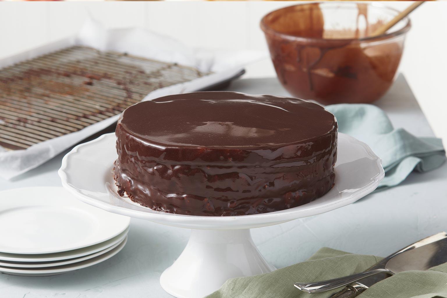Voir la recette - Gâteau mousse au chocolat