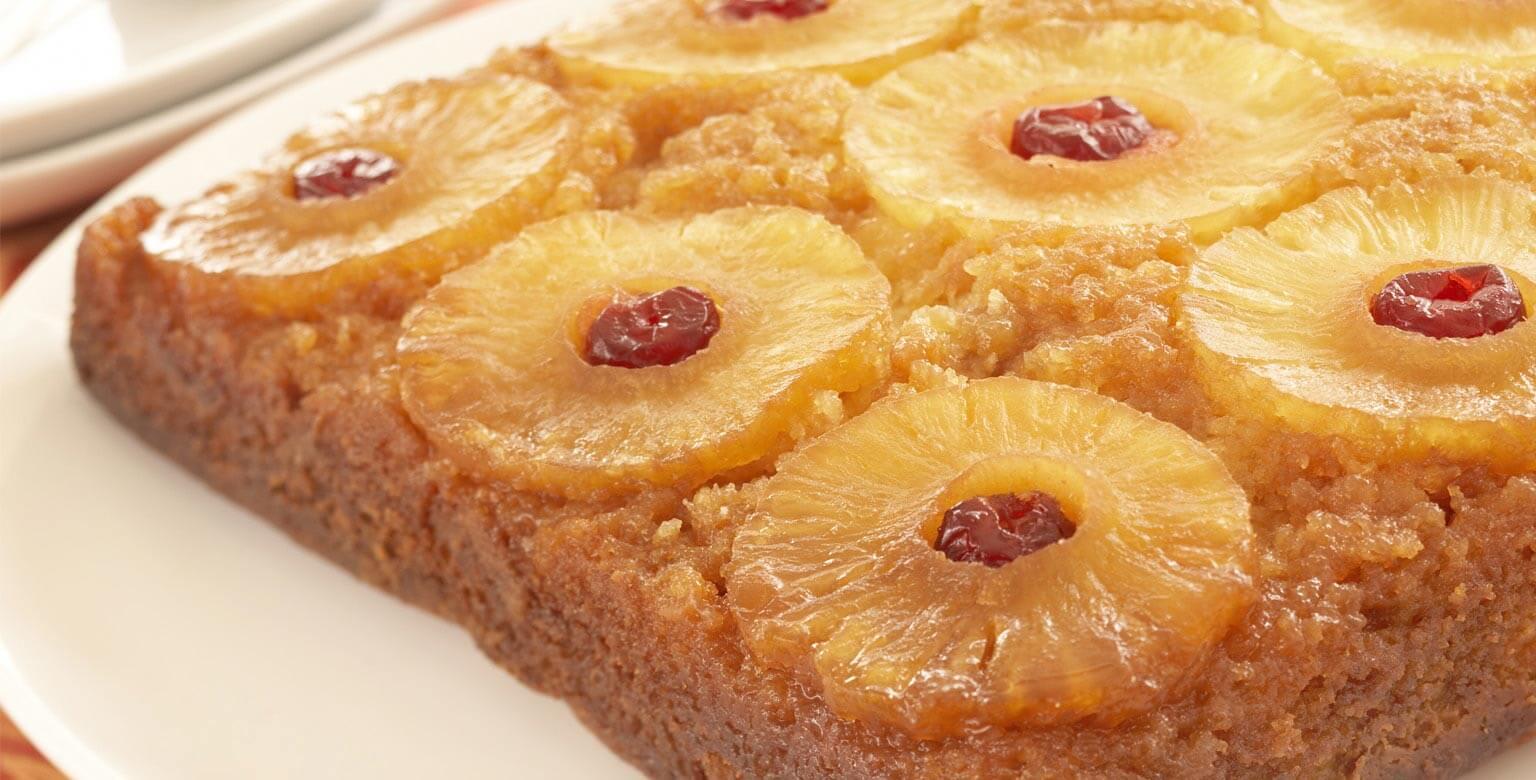 Voir la recette - Gâteau renversé à l'ananasclassique