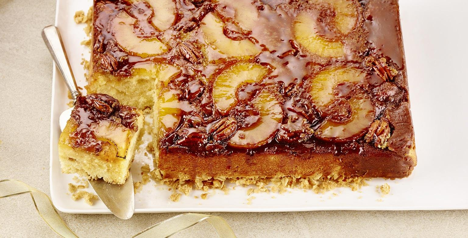 Voir la recette - Gâteau renversé à l'ananas
