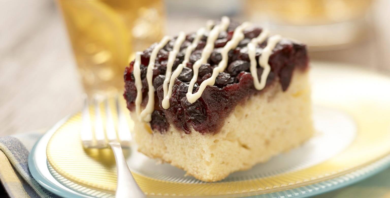 Voir la recette - Gâteau renversé d'été