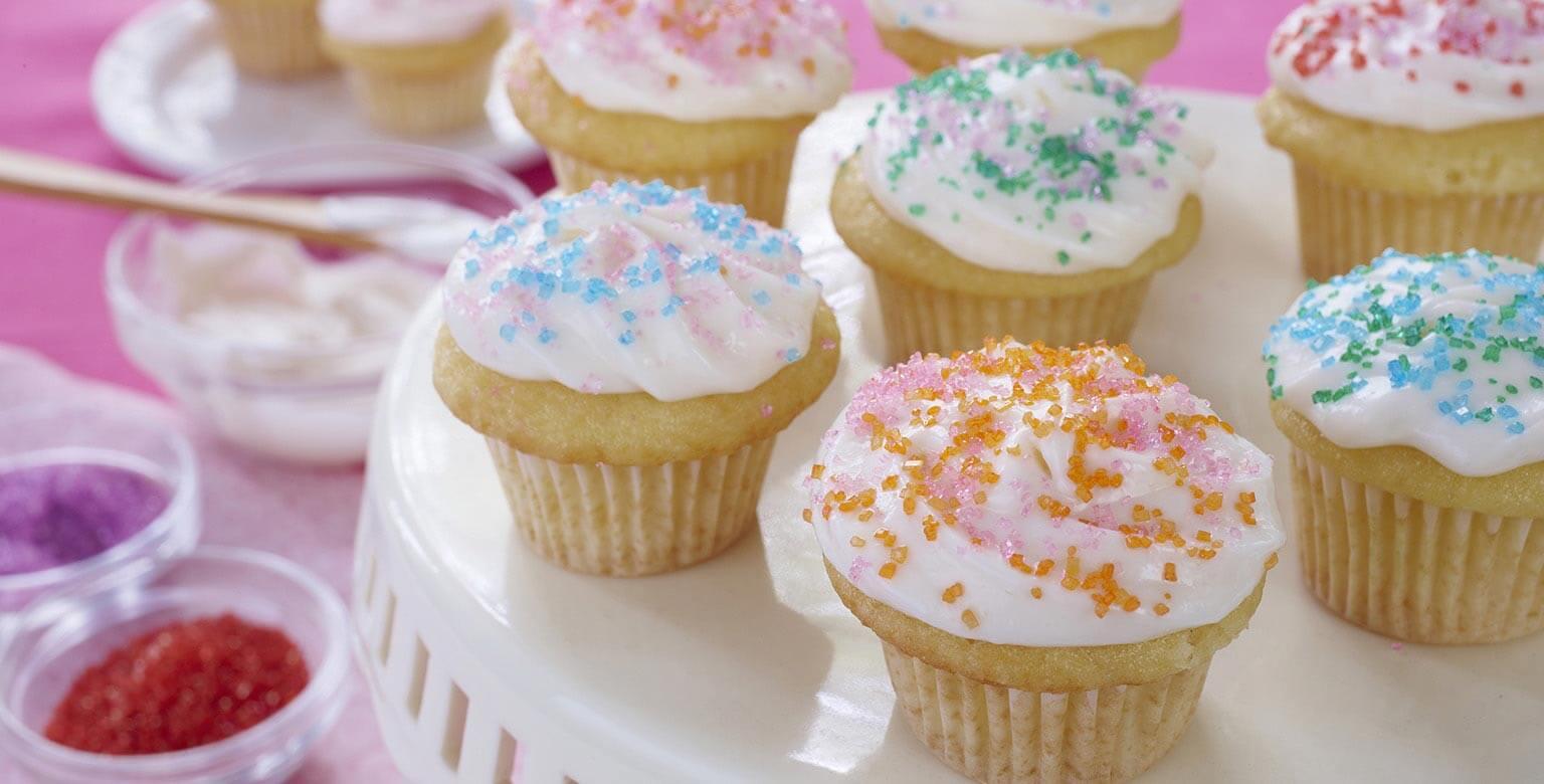 Voir la recette - Mini gâteaux à la vanille