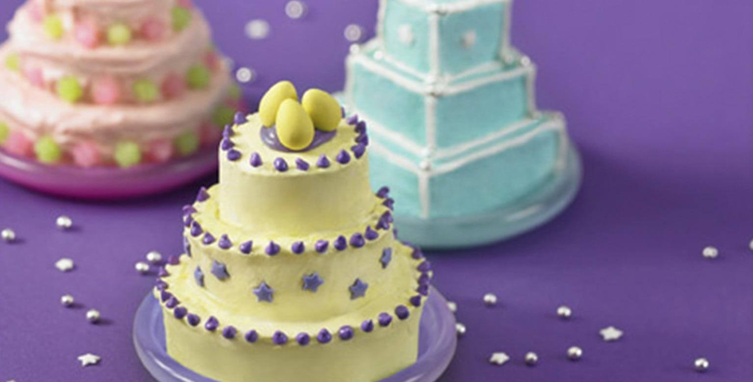 Voir la recette - Mini gâteaux magnifiques