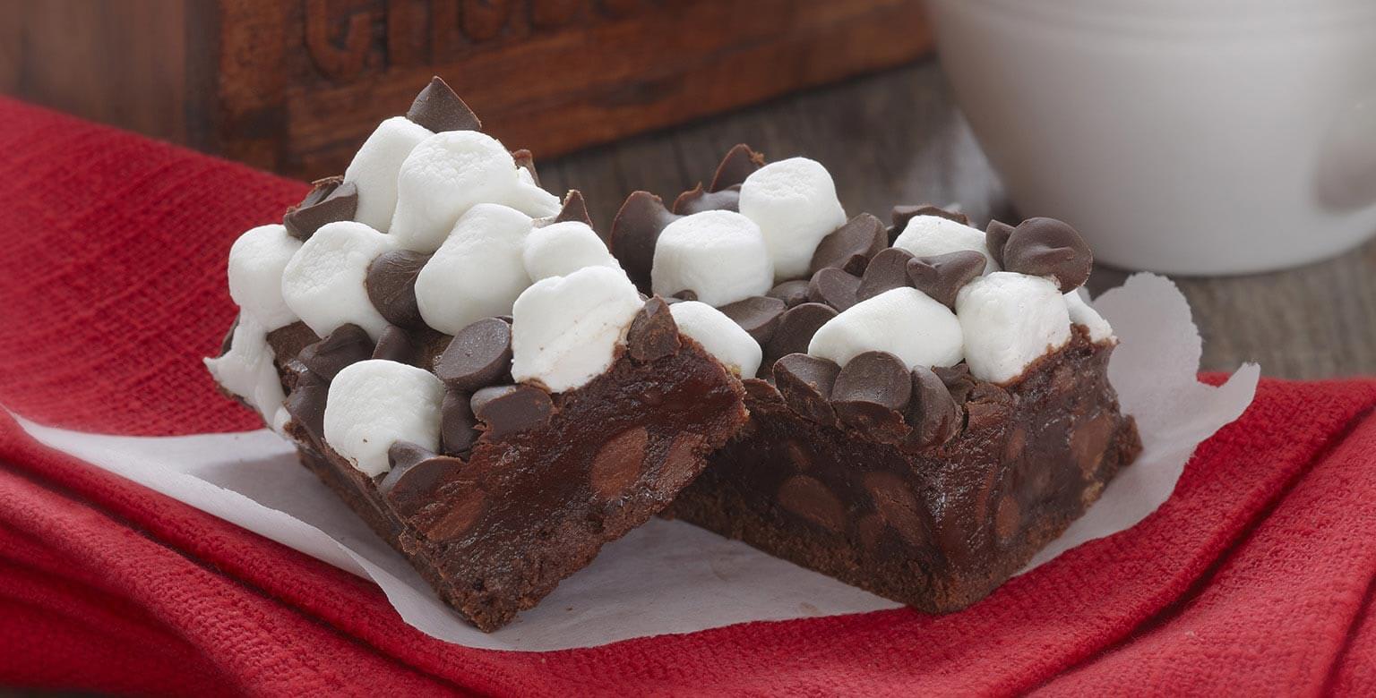 Voir la recette - Moelleux au chocolat chaud
