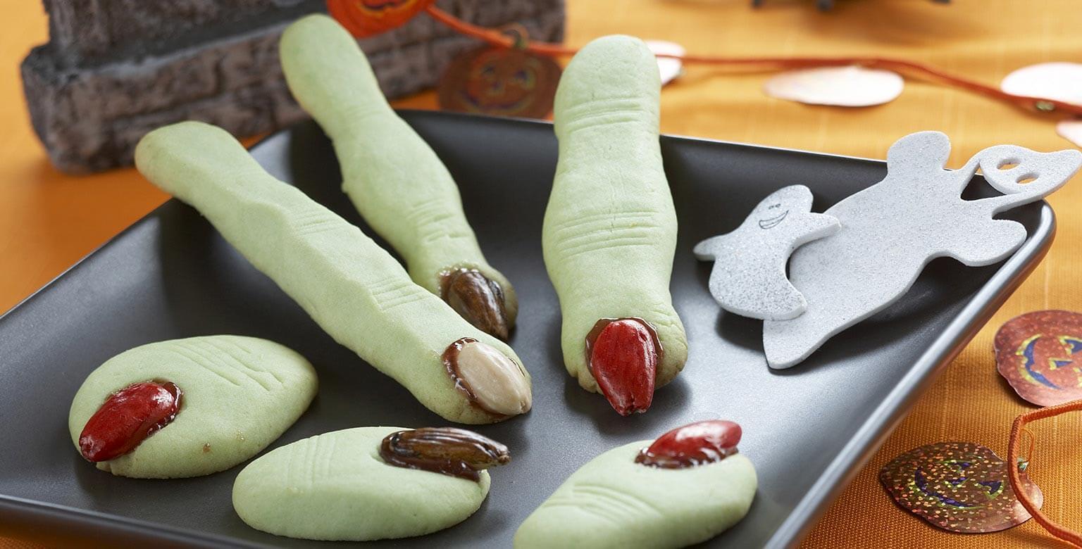 Voir la recette - Orteils d'ogre et doigts de sorcière