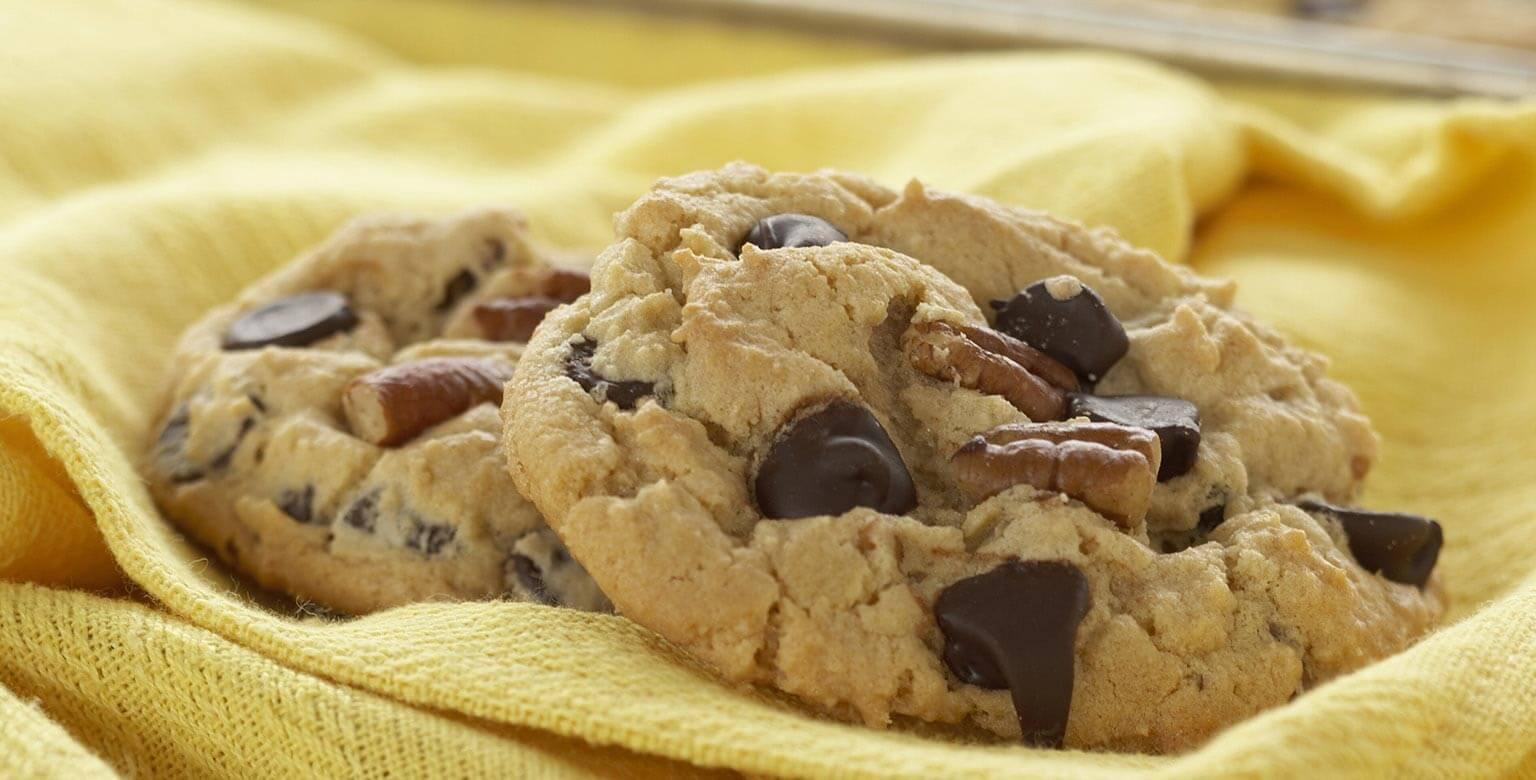 Voir la recette - Parfaits biscuits aux grains de chocolat