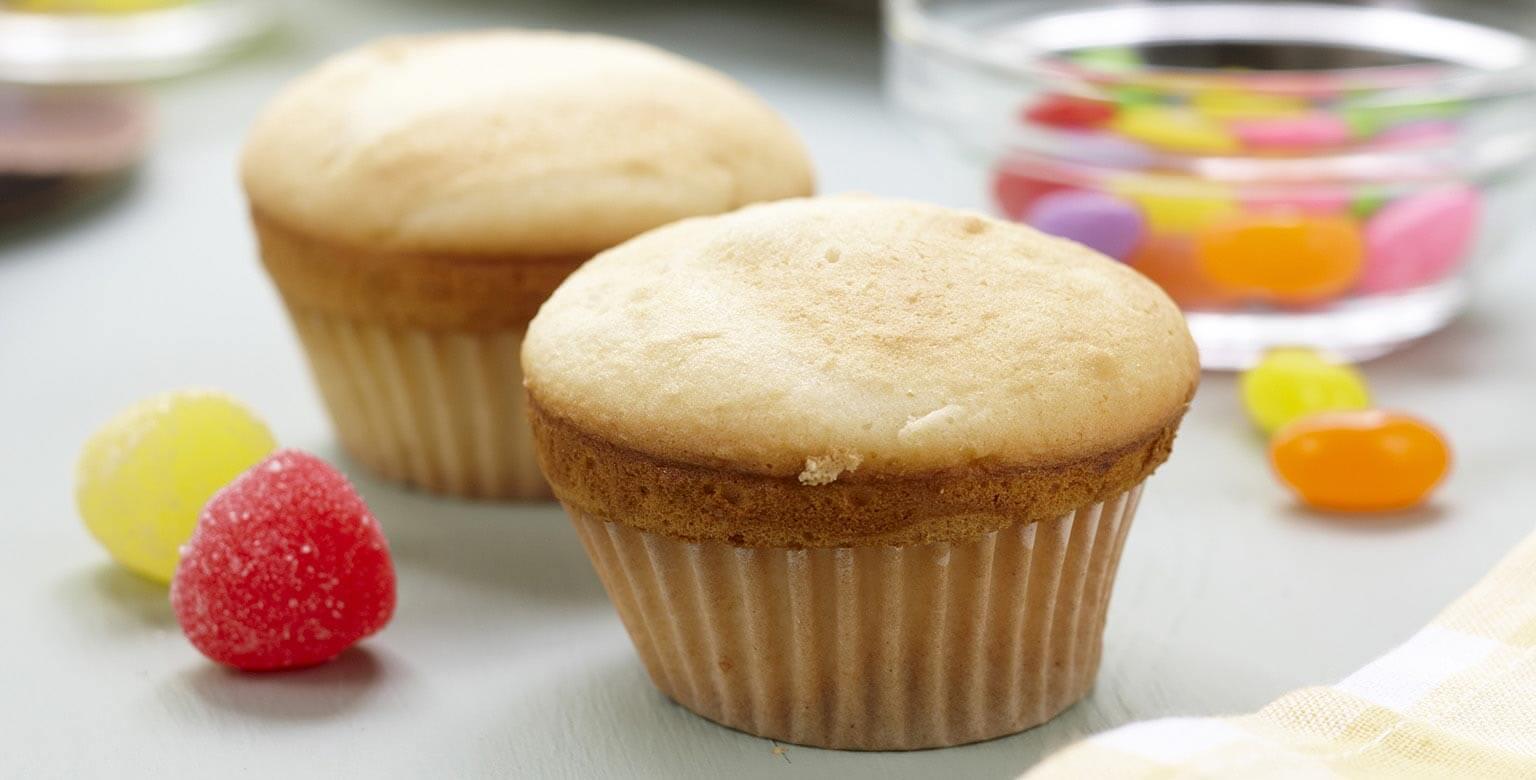 Voir la recette - Petits gâteaux blancs