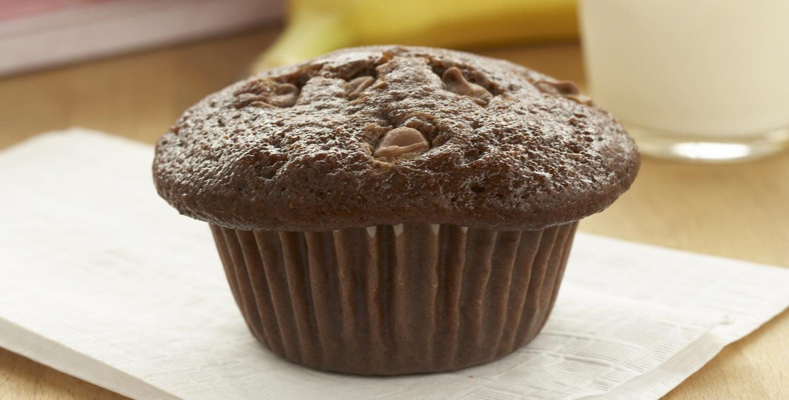 Voir la recette - Petits gâteaux fourrés au pudding et aux pépites de chocolat