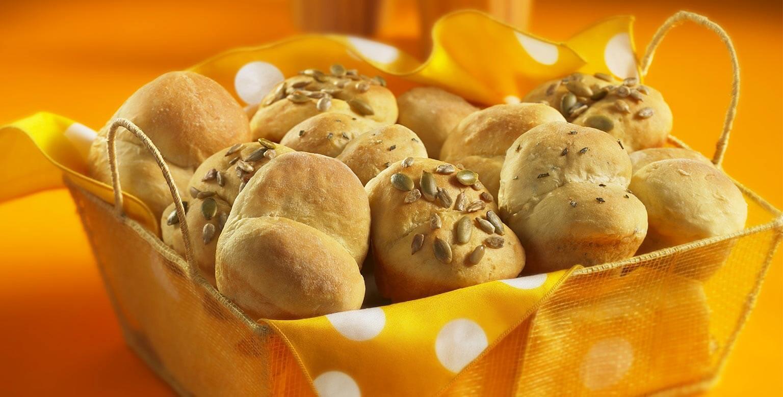 Voir la recette - Petits pains légers et moelleux