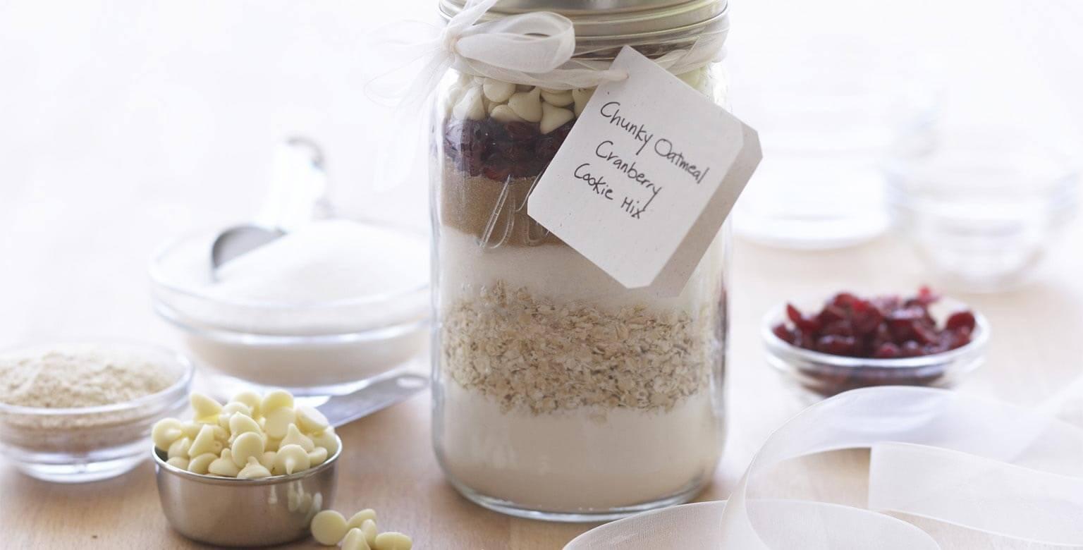 Voir la recette - Préparation à biscuits aux canneberges et à l'avoine