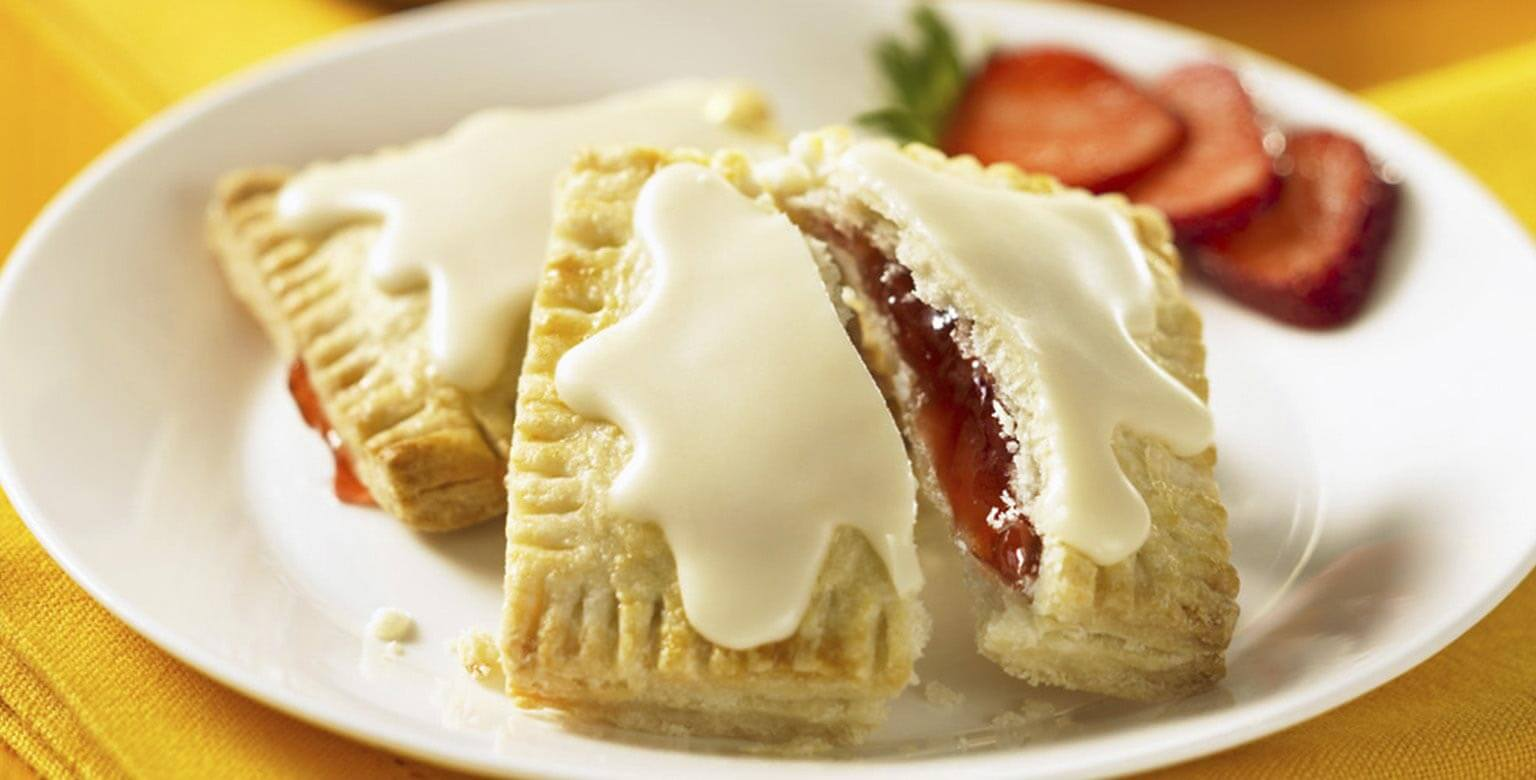Voir la recette - Toasties aux fraises